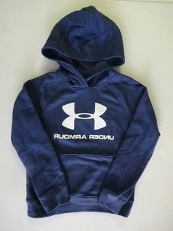 under armour boy s rival logo hoodie