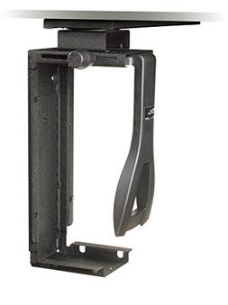 3M Under Desk Computer Holder, Black