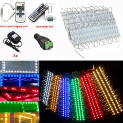 US 20FT 3 LED 5050 SMD Module Lights Kitchen Bar Under Cabin