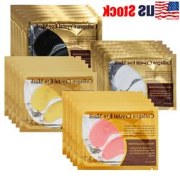 USA 20Pack Anti-Wrinkle Dark Circle Gel Collagen Under Eye P