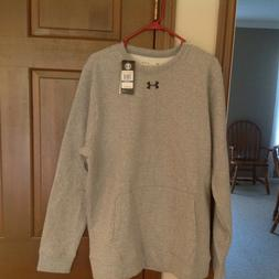 Under Armour XL New Sweatshirt. 80% Cotton/20% Polyester.